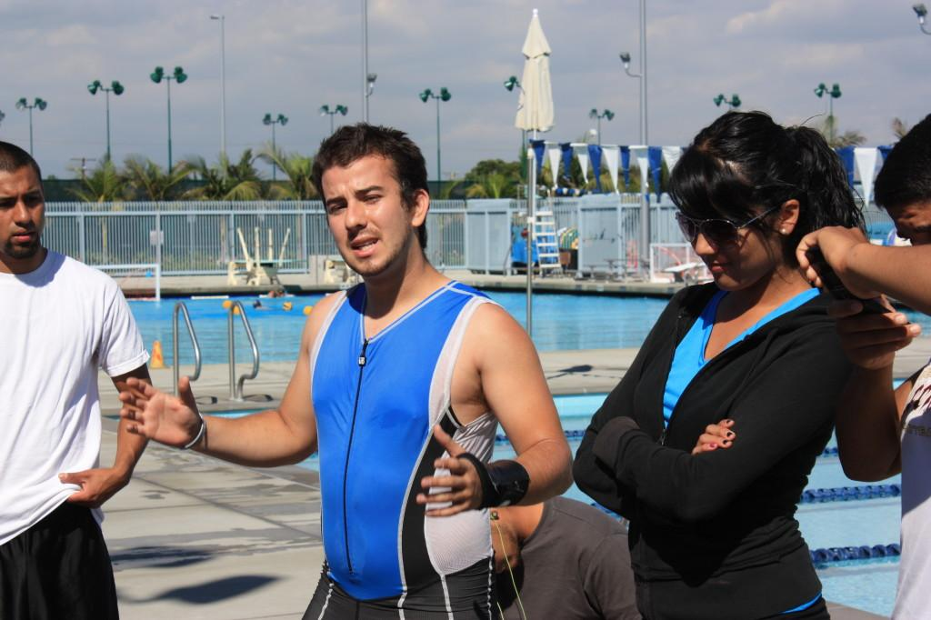 Triathlon Clubs president Christopher De Maree  explains the plans for the Playa del Rey triathlon. The event is going to be held on Oct 16.