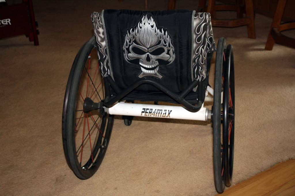 One+of+the+wheelchair+customizations+done+by+%22Designs+by+Lulu.%22+Each+design+is+one-of-a-kind%2C+as+Lulu+prefers+to+work+with+her+clients+in+coming+up+with+ideas+for+what+they%27d+like+in+the+design.