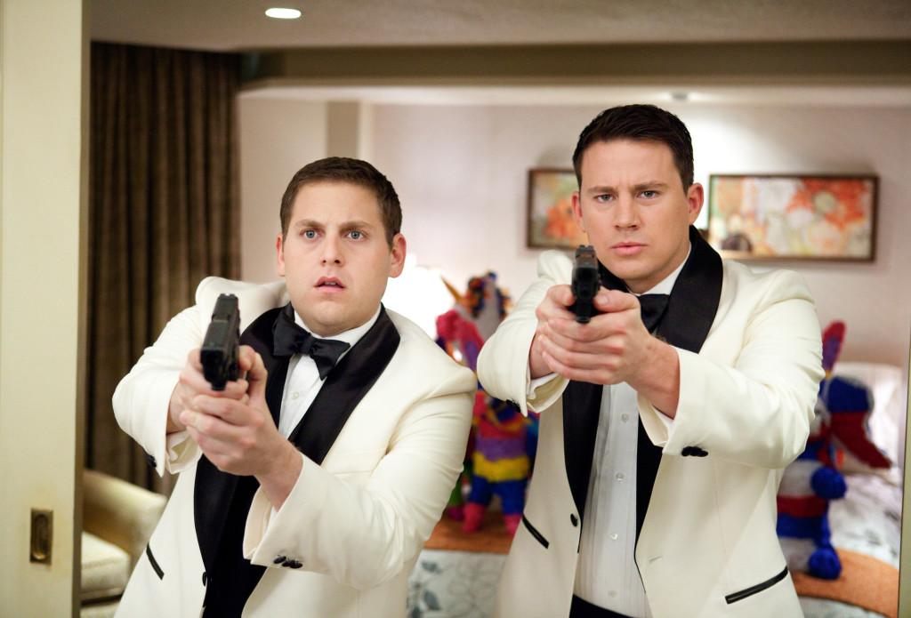 Jonah Hill, left, and Channing Tatum star in Columbia Pictures action comedy 21 Jump Street. (Courtesy of Scott Garfield/Columbia Pictures/MCT)