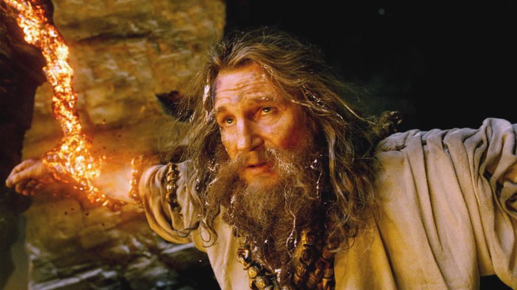 Liam Neeson as Zeus in Warner Bros. Pictures' and Legendary Pictures' action adventure