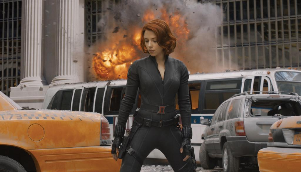 Scarlett Johansson stars as Black Widow in The Avengers. (Marvel/MCT)