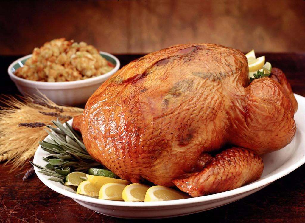 Don't let the holidays be an excuse for overeating. Turkey -- but not the stuffing or mashed potatoes -- is OK for seconds.