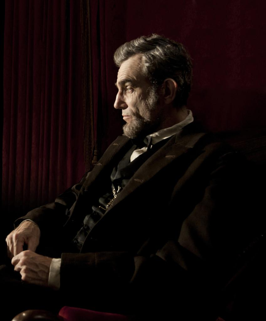 Daniel Day Lewis stars as President Abraham Lincoln in director Steven Spielberg's