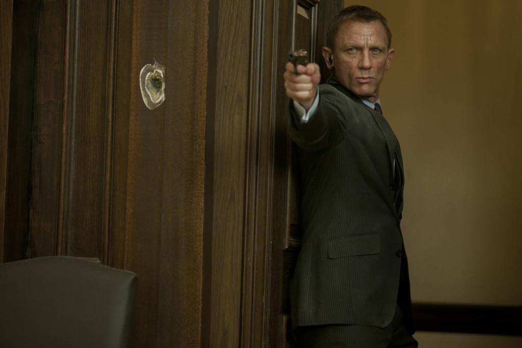 Daniel Craig stars as James Bond in Metro-Goldwyn-Mayer Pictures/Columbia Pictures/EON Productions' action adventure