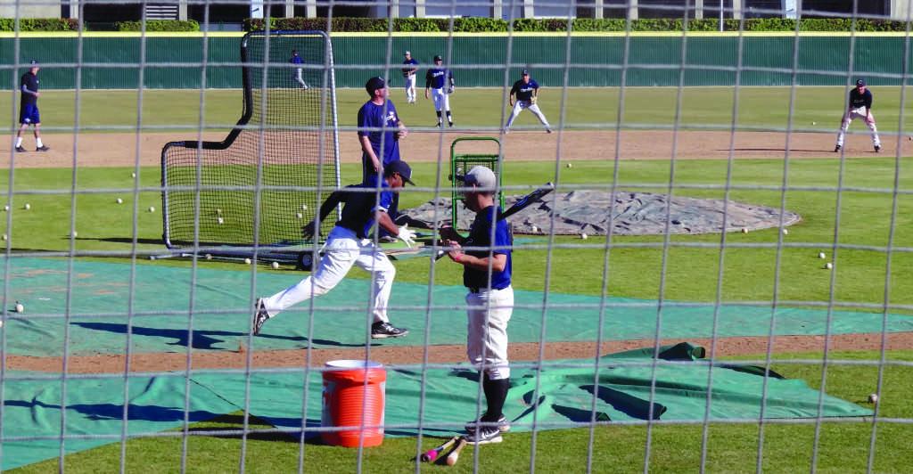 The Cerritos College baseball team awaits its season opener on Feb. 1 when it hosts Citrus College.