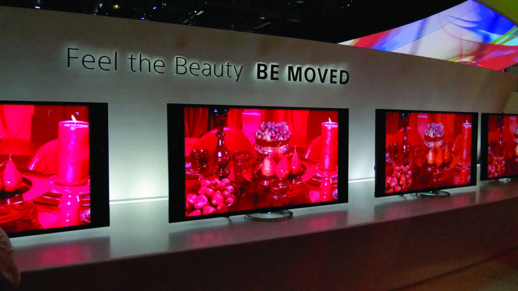 4K TVs were among the products unveiled at the 2013 Consumer Electronics Show in Las Vegas on Jan. 8-11.