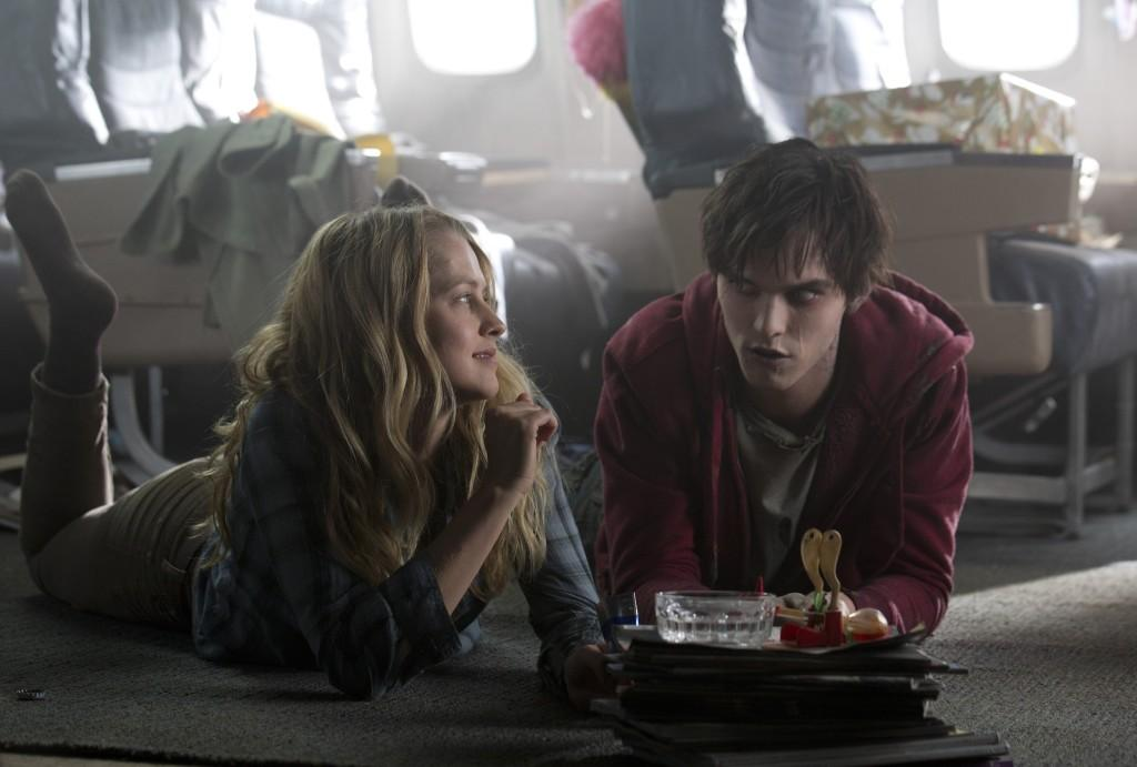 Nicholas Hoult and co-star Teresa Palmer mimic a modern Romeo and Juliet love story, but with a new twist in Warm Bodies. The film opened at number one at the box office.