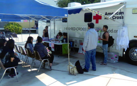 American Red Cross collects from students