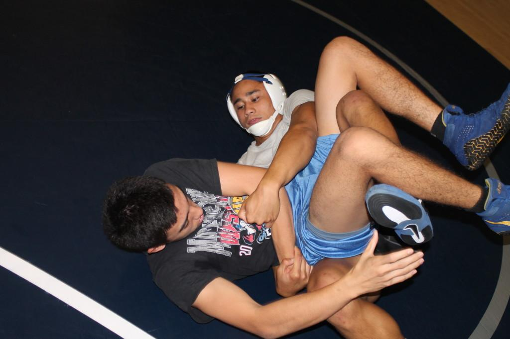 Wrestling team seeks to thrive