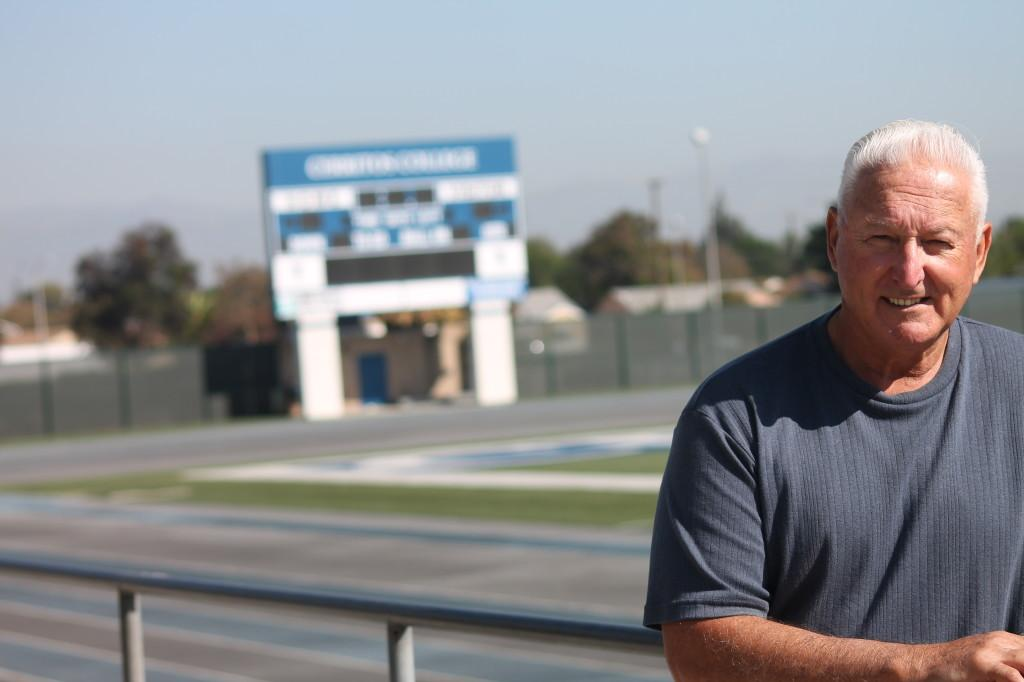 Thirty-five+years+of+coaching+at+Cerritos+College%2C+football+head+coach+Frank+Mazzotta+couldn%27t+be+happier.