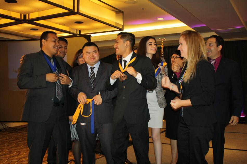 Phi+Beta+Lambda+students+celebrate+their+awards+for+the+State+Leadership+Business+Conference+at+the+Westin+LAX.+Photo+credit%3A+Alexandra+Gomez
