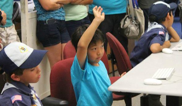 Slideshow: Cub Scouts visit Talon Marks