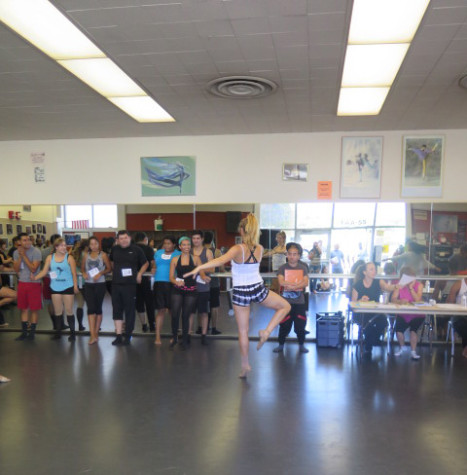 Students show talents at Fall Dance Concert Auditions
