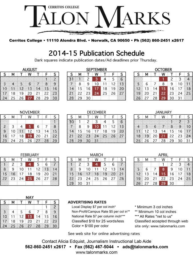 14-15 TM Pub Schedule.xls