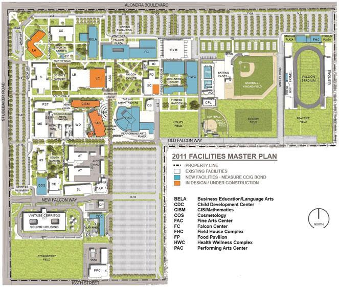 Cerritos College Campus Map Compressportnederland