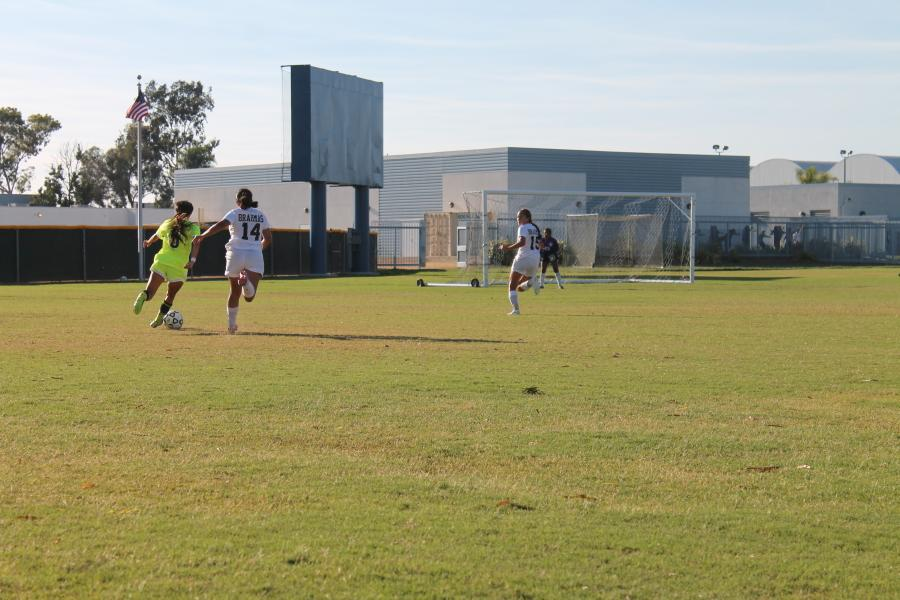 Returning forward and Captain Nayeli Requejo was a key player contributing an assist in the 7-0 rout against LA Pierce.