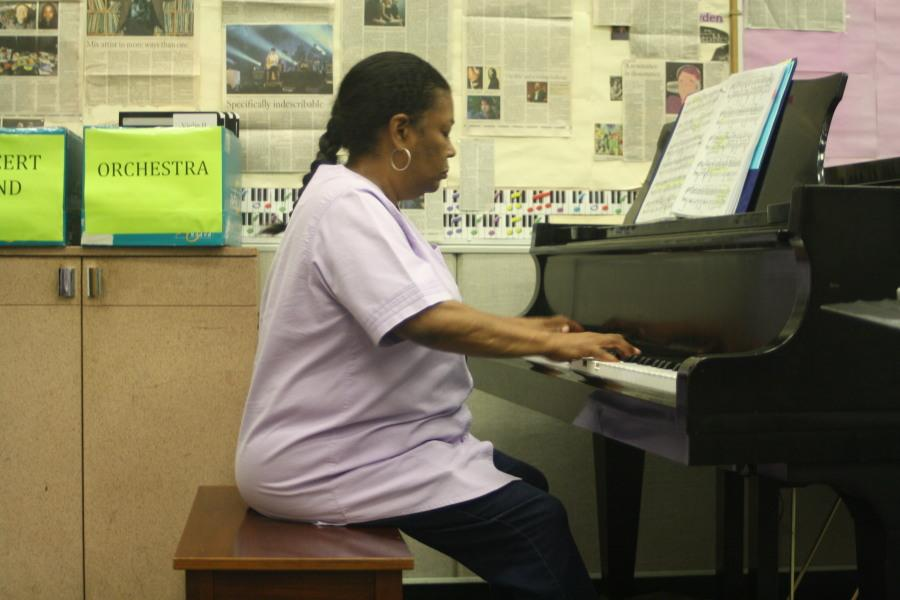 Piano room offers resources for music students