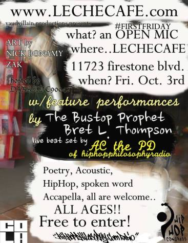 Cafe allowing 'open mic' time on Friday