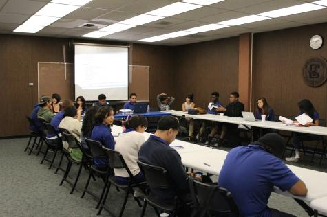 ASCC Senate shows its support for President Lacy