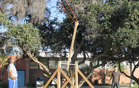 ASET Club holds catapult fundraiser