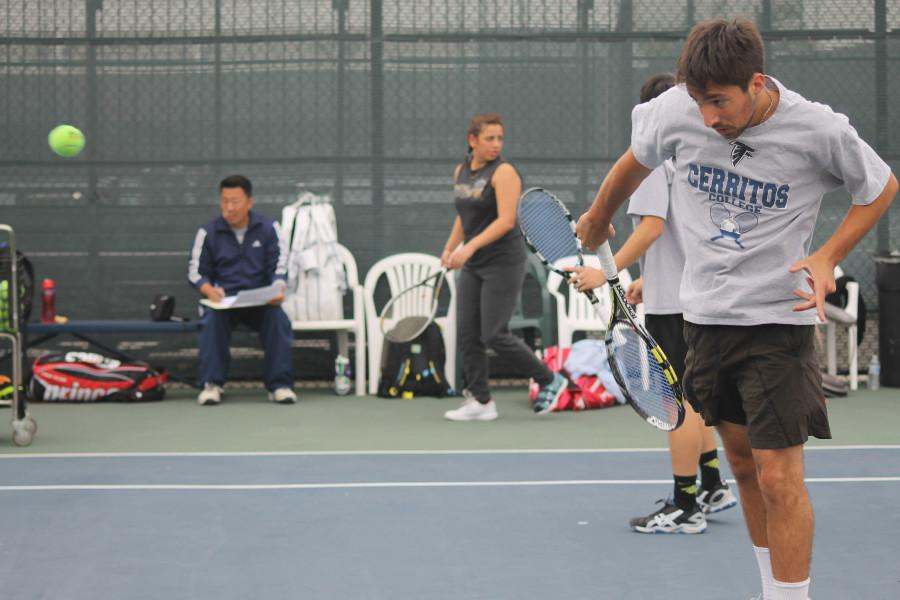Men's tennis prepares for new season ahead of 2015