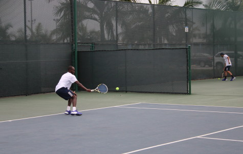 Men's tennis shutouts Glendale In all nine matches