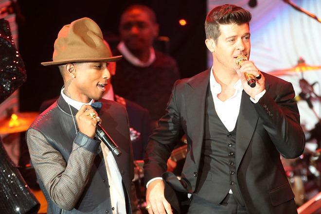 Pharrel and Robin Thicke must pay $7.4 million for infringement of Marvin Gayes Got to Give It Up. This questions the work of other artists.