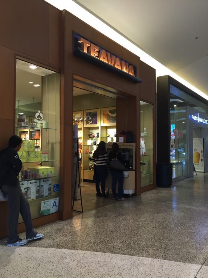 The lovely teavana located just seconds from campus in Cerritos mall. Photo credit: Ariel Jimenez