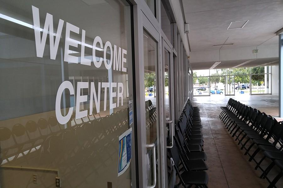 The Welcome Center opened over the summer. It is located in the administration building next to staff lounge. Photo credit: Grester Celis-Acosta
