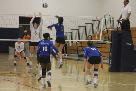 Volleyball can't lock up against Pasadena City Lancers