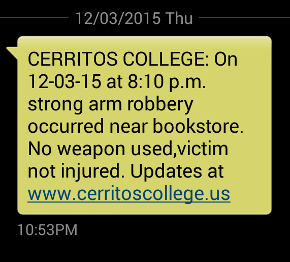 Strong-armed robbery outside of campus bookstore