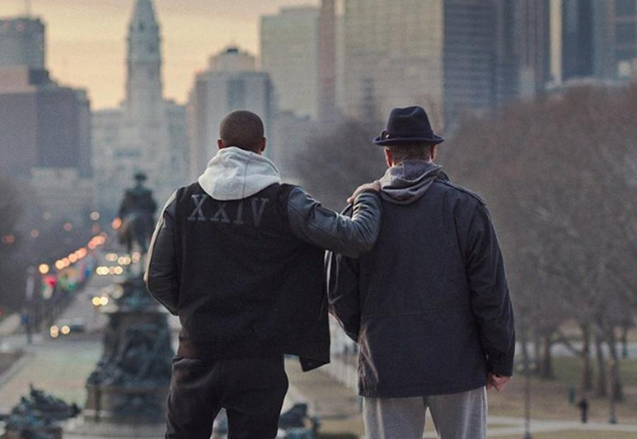 "Sylvester Stallone and Michael B. Jordan in ""Creed."" (Warner Bros. Entertainment)"