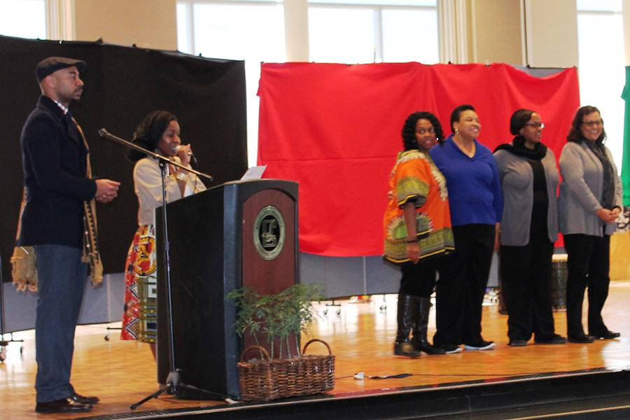 Black History Month kickoff event renders unexpected results