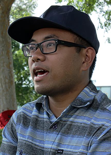 Leodel Gleyo, engineering major, said I think the reason why humans will go extinct forever because of climate change. We are ruled by corporations, so businesses are taking for granted the climate. A lot of cultures are being taken advantage of by these corporations which leads to global warming. Soon land that could be used will be gone therefore resources will be used up.