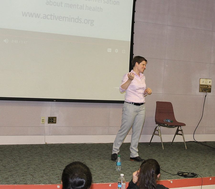 Guest Speaker Maggie Bertram discussed the importance of the event