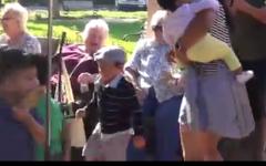 Child Development Center visits Senior Living Facility