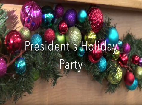 President's Holiday Party collects 360 toys for Sparks of Love