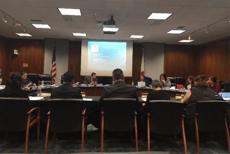 Board of Trustees discuss Educational Master Plan which affects all students