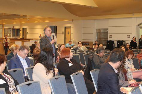 Faculty and students attend Educational Master Plan meeting