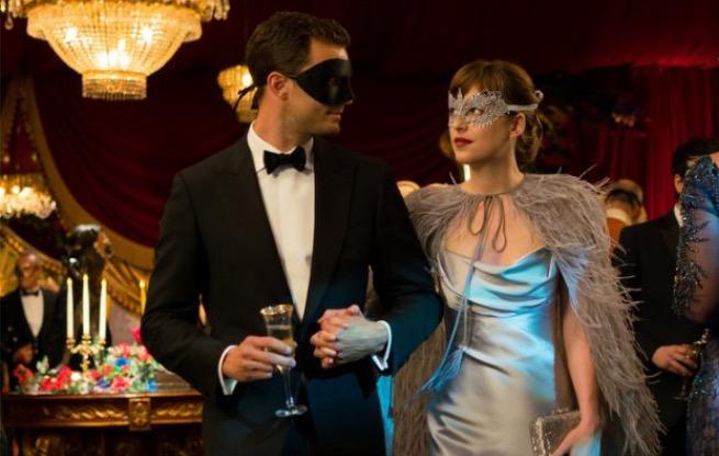 Jamie Dornan and Dakota Johnson in 50 Shades Darker (Universal Pictures)