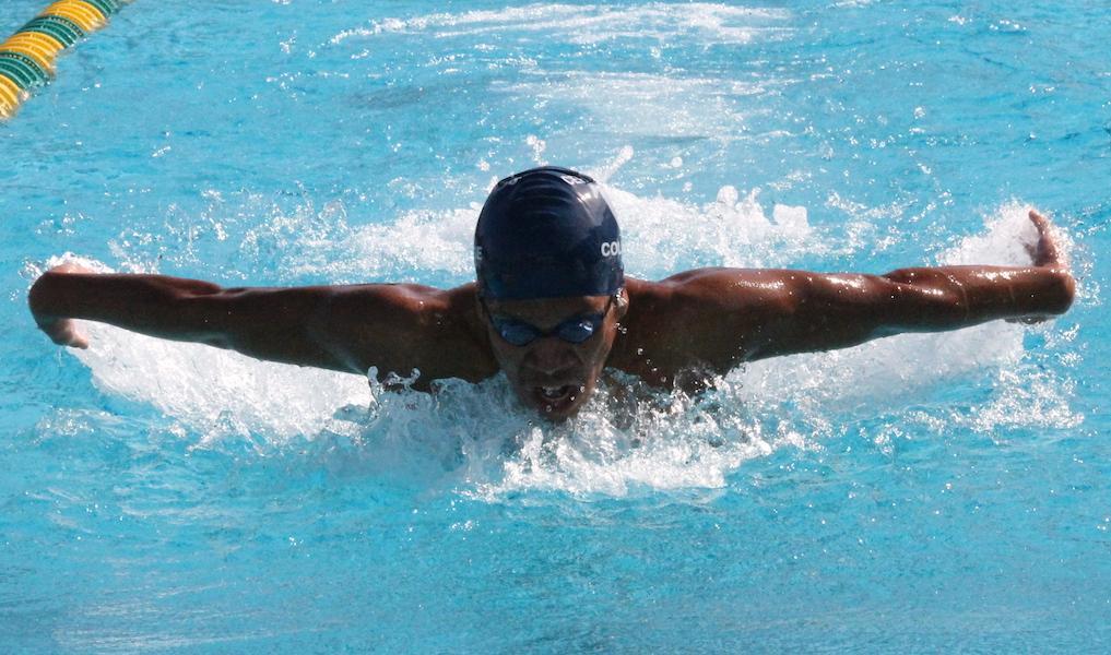 Cerritos swim hold their own