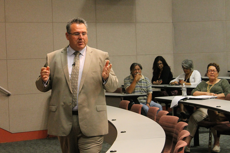 Forum held for second Vice President Of Academic Affairs candidate Rick Miranda