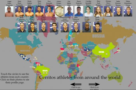 Cerritos athletes from around the world