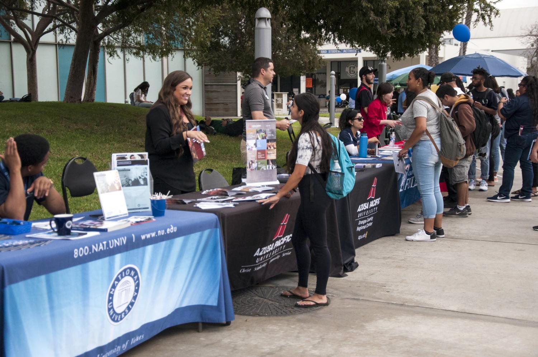 Four year universities visit Cerritos College