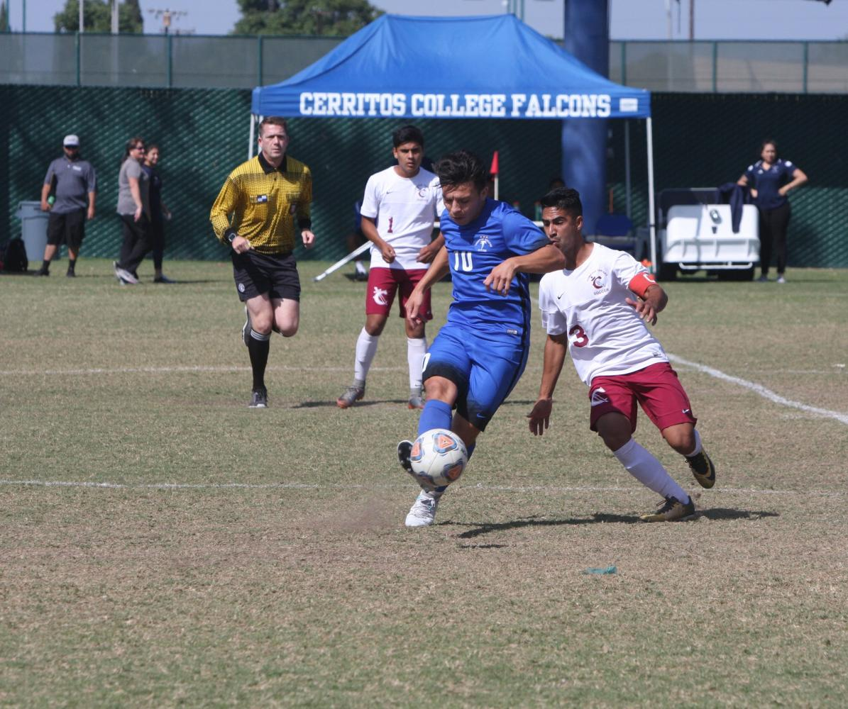 Men's Soccer: Cerritos stay dominant after 4-1 win