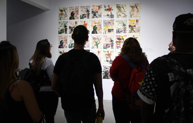 Art exhibit questions masculinity