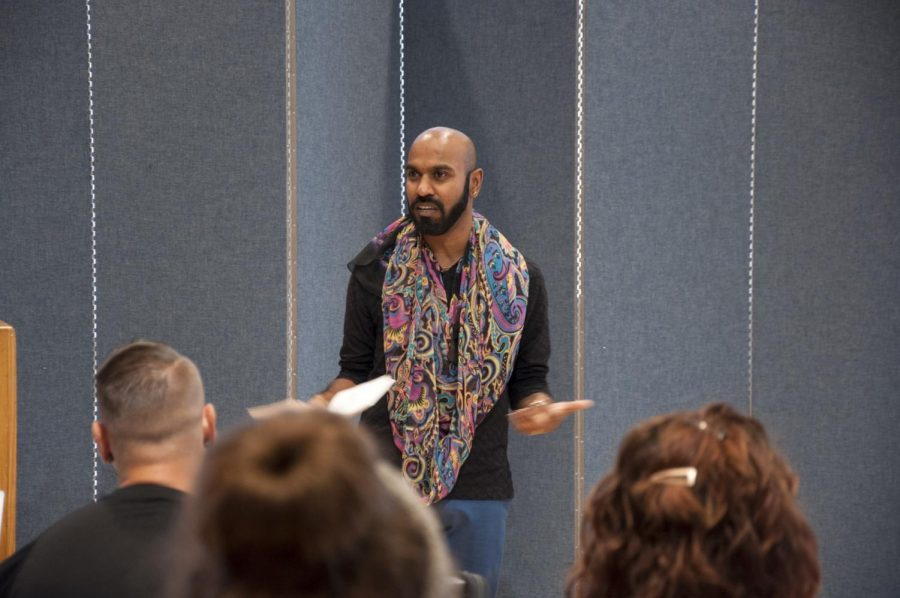 Raja Bhattar, they/them/theirs, works for UCLA to make sure that members of the LGBTQ+ are offered a safe space on campus. Raja expands on how to create safe spaces and make the classroom all gender inclusive.