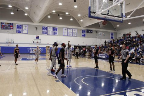 Falcons men's basketball goes down to the wire in 87-83 win vs Long Beach City College