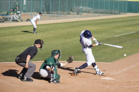 Falcons' baseball take down Long Beach City College 14-0 in the last game of the season series