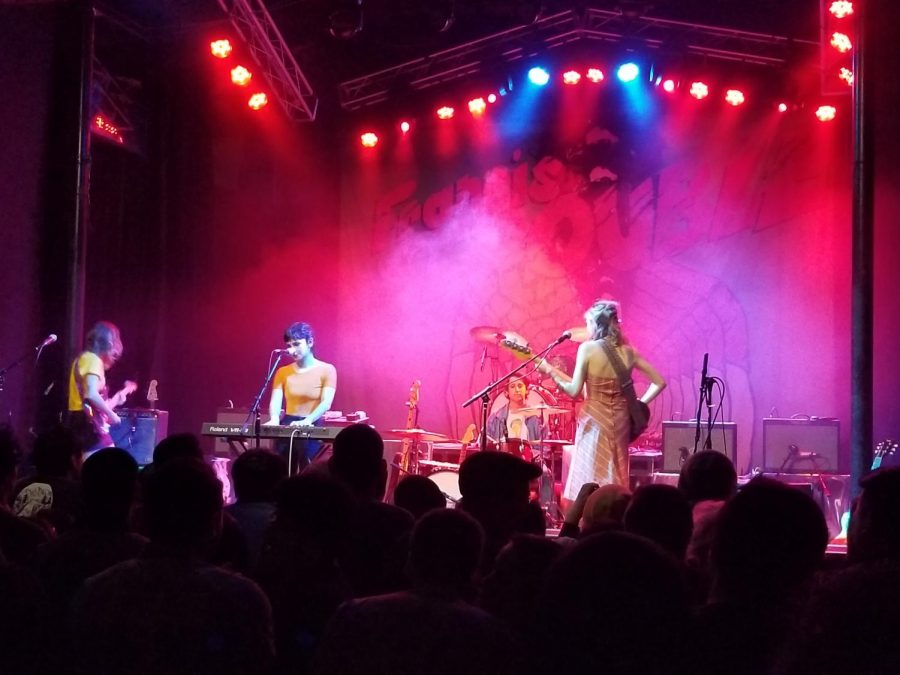 The Paranoyds opening up for Albert Hammond Jr at the Observatory. The concert was held on March 8.